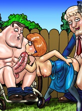 Family Guy's nymphos - 3 anal pictures