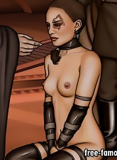 Star Wars famous celebrity cartoon heroes are fucking hard - 5 anal pictures