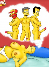 Marge Simpson is a nympho - 3 anal pictures