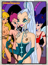 Winx babes get their pussies fucked by studs and witches! - 5 anal pictures