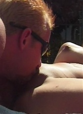 Ravisher asian Skylar gives blowjob and gets nailed at the poolside - 4 anal movies