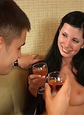 She and her boyfriend are already burning from passion and desire - 3 anal movies