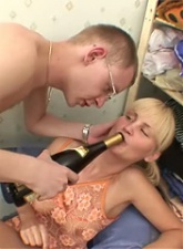 Drunk teen wants to be a model - 4 anal movies